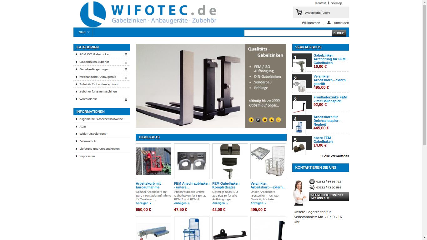 Wifotec - Online Shop